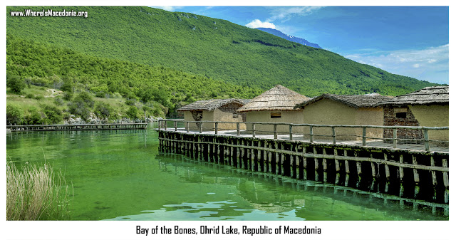 Bay of Bones, Ohrid Lake, Macedonia