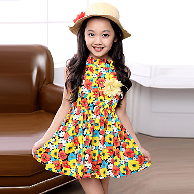 vestidos de niña a rayas