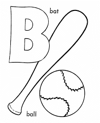 B Coloring Page 4