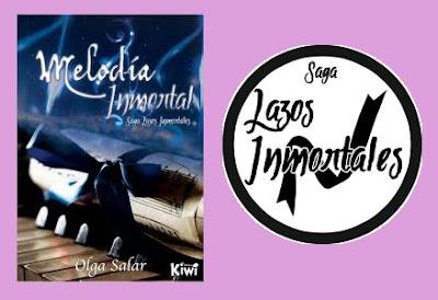portada del libro Melodía inmortal