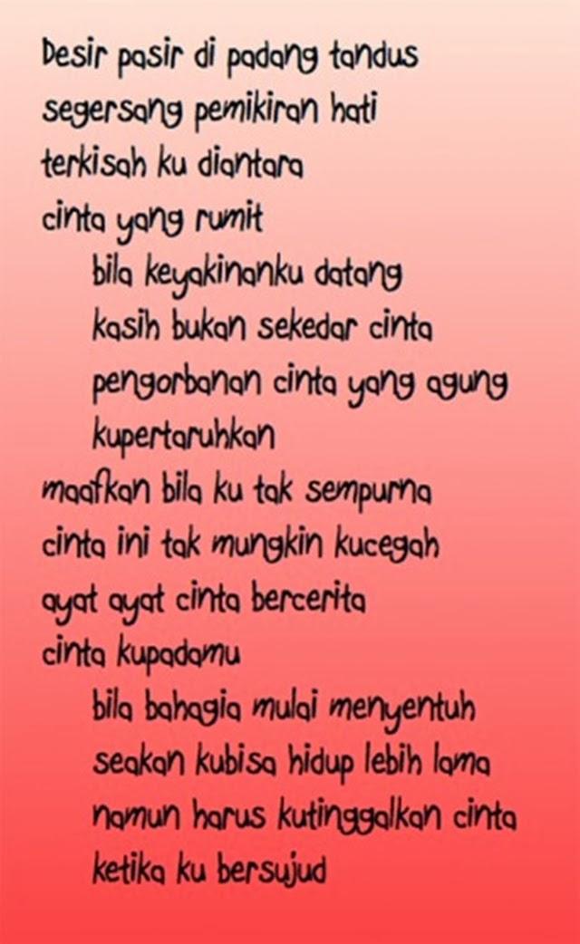 Kata-kata cinta untuk kekasih | ! Love Is Cinta