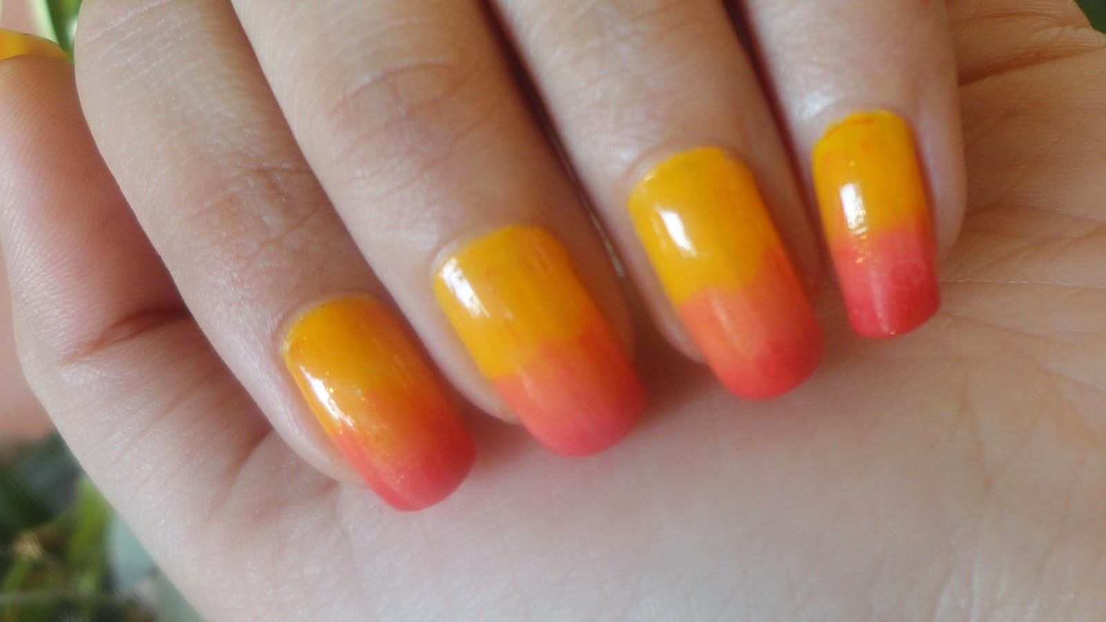 How to do ombre nail art at home step by step | Nail Art ...