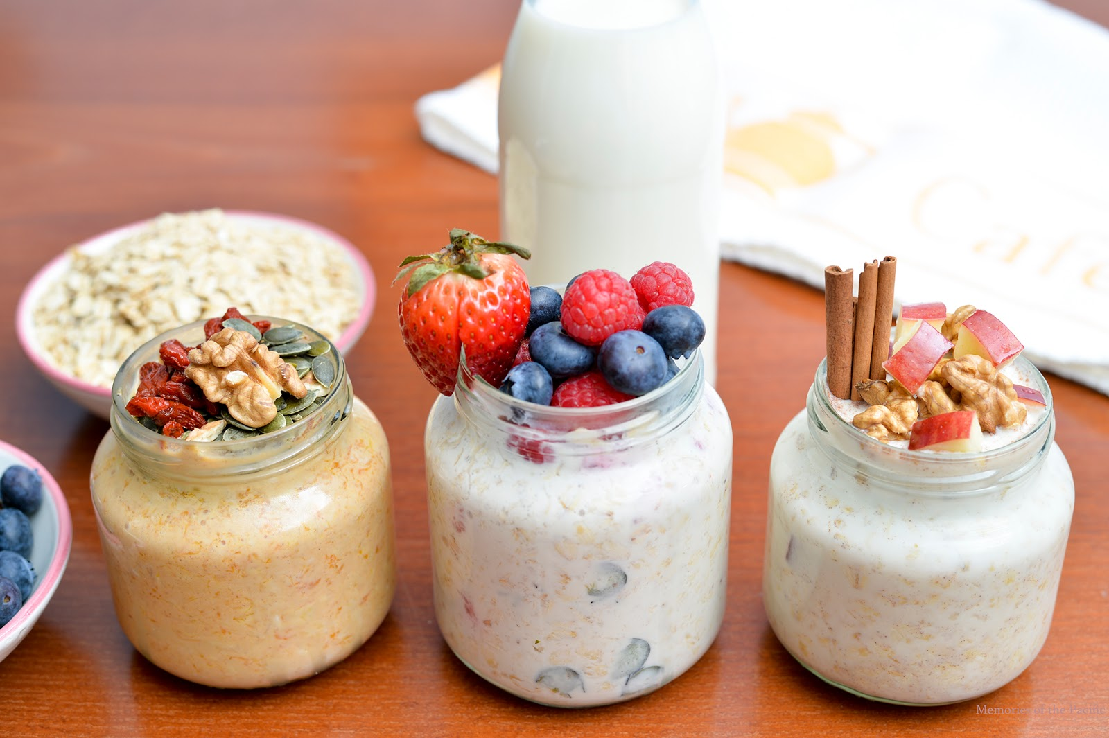 Overnight Oats 3 Recipes