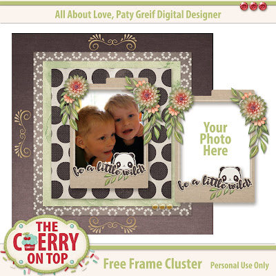 Free Frame cluster from The Cherry On Top