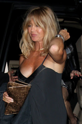 Something similar? goldie hawn fakes absolutely not