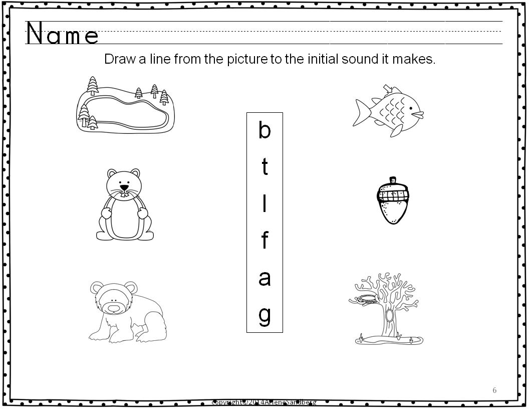 Classroom Freebies: Animals in Winter Literacy Activities