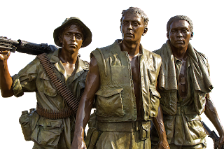 Image Statues of Vietnam soldiers