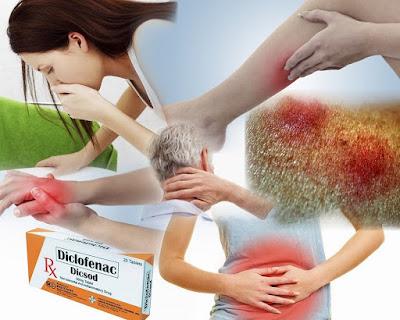 Quels sont les effets secondaires du diclofénac