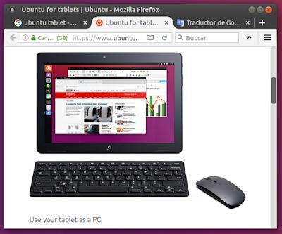 Tablet como PC