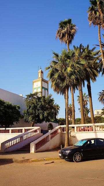 Изображение мечети Ould el-Hamra в Касабланке, Марокко