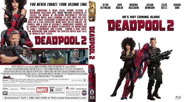 Deadpool 2 Bluray