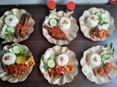 Geprek kanjeng mommy malang kuliner online order gofood/gojek