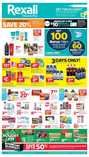 Rexall Weekly Flyer Circulaire December 14 - 20, 2018