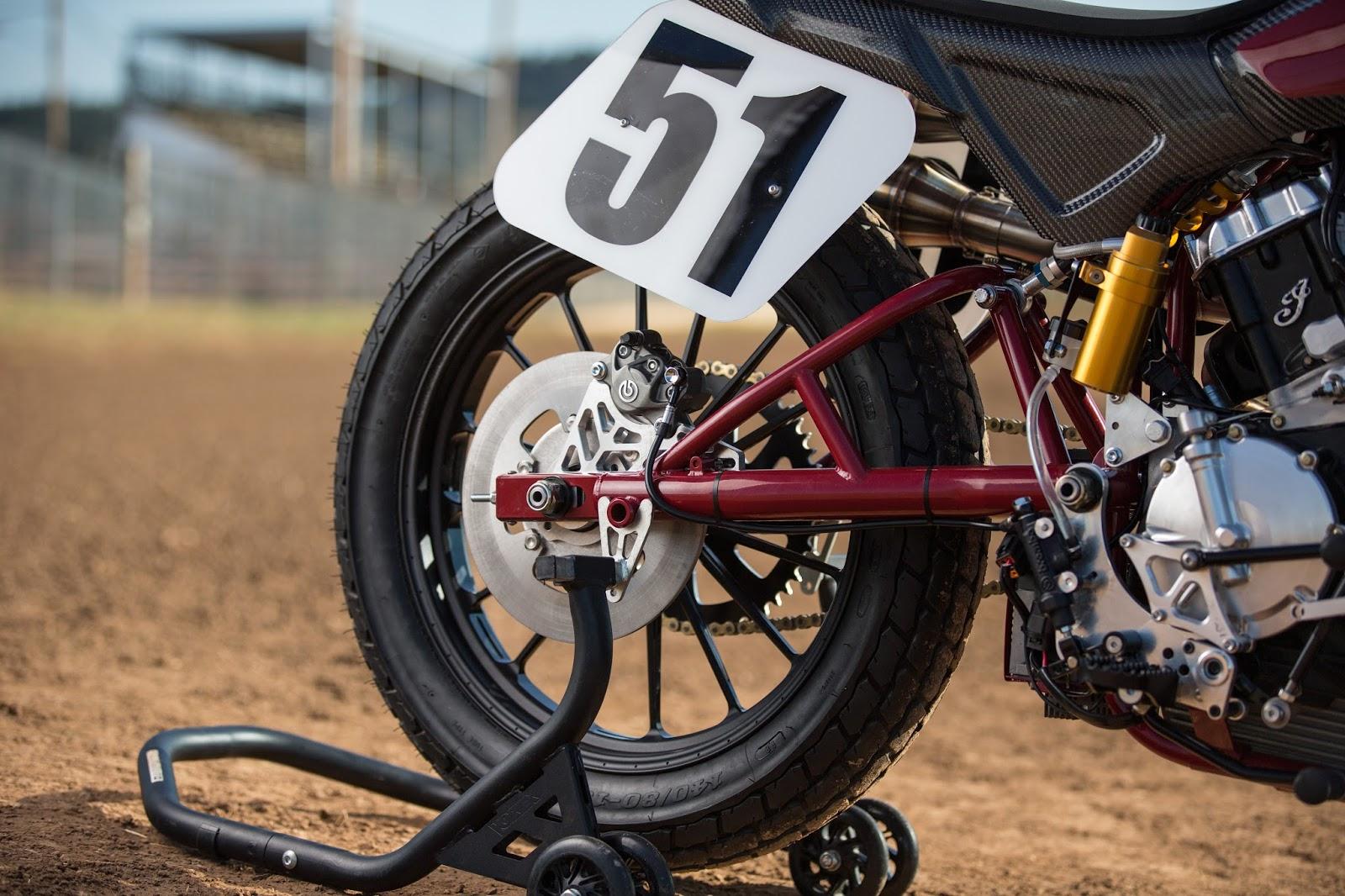Racing Caf U00e8  Indian Scout Ftr 750 Dirt Track 2016
