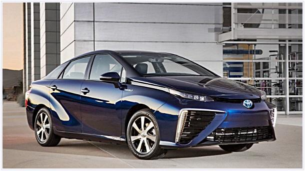 2017 Toyota Mirai Redesign