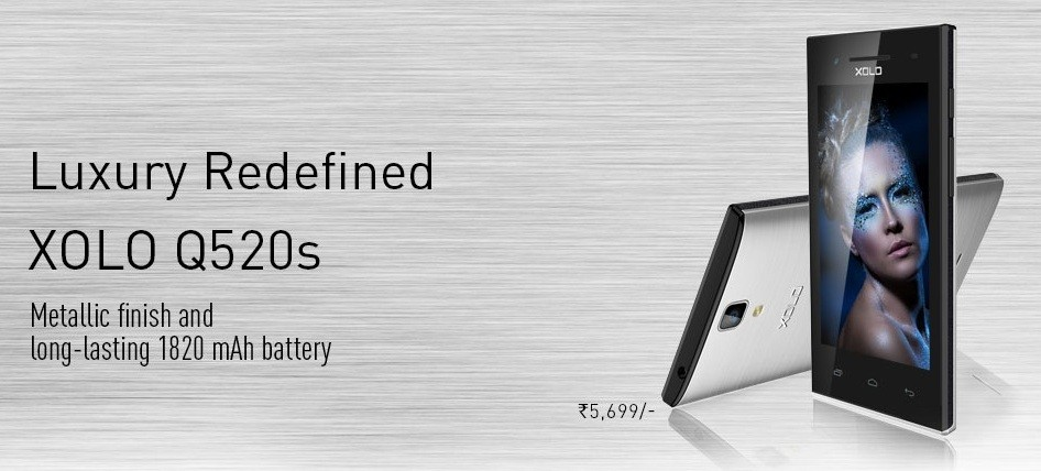 Xolo Q520s Specifications