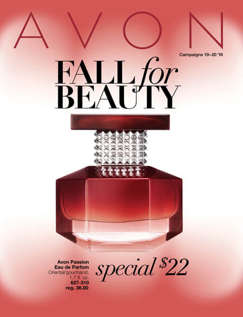#Avon Fall For Beauty Catalog Campaigns 19 and 20. Expires 9/16/16. Click on Catalog