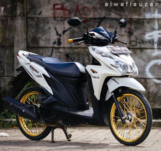 Modifikasi All New Honda Vario 150 eSP Velg Jari Jari Ring 17