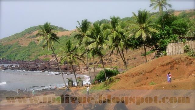 Anjuna Beach, Goa, Intia