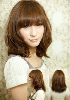 Asian girls bob hairstyle