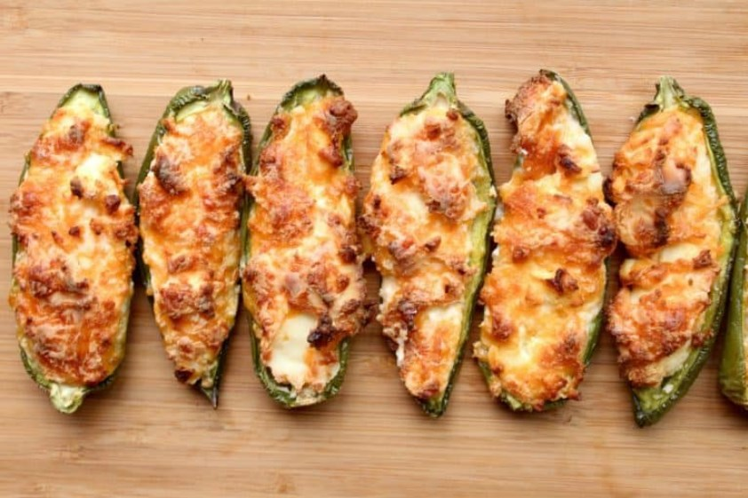 Roasted Jalapeno Poppers #healthy #keto