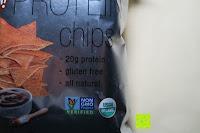 Siegel: 8 x Glutenfreie Protein Chips, 52gr pro Tüte, 20gr organic Proteine, glutenfrei, natural, healthy (BBQ)