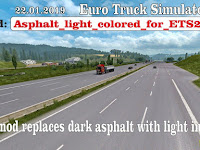 Road Asphalt for ETS2