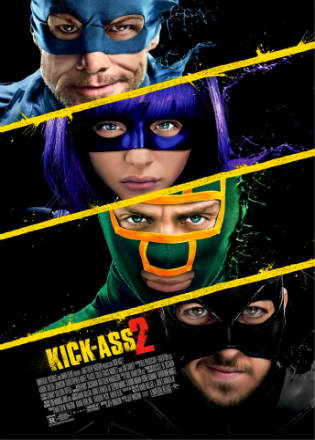 Kick-Ass 2 (2013) BRRip 720p Dual Audio In Hindi English Free Download