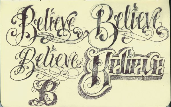 Lettering Tattoo For Girls |Tattoo Lettering Fonts For Girls