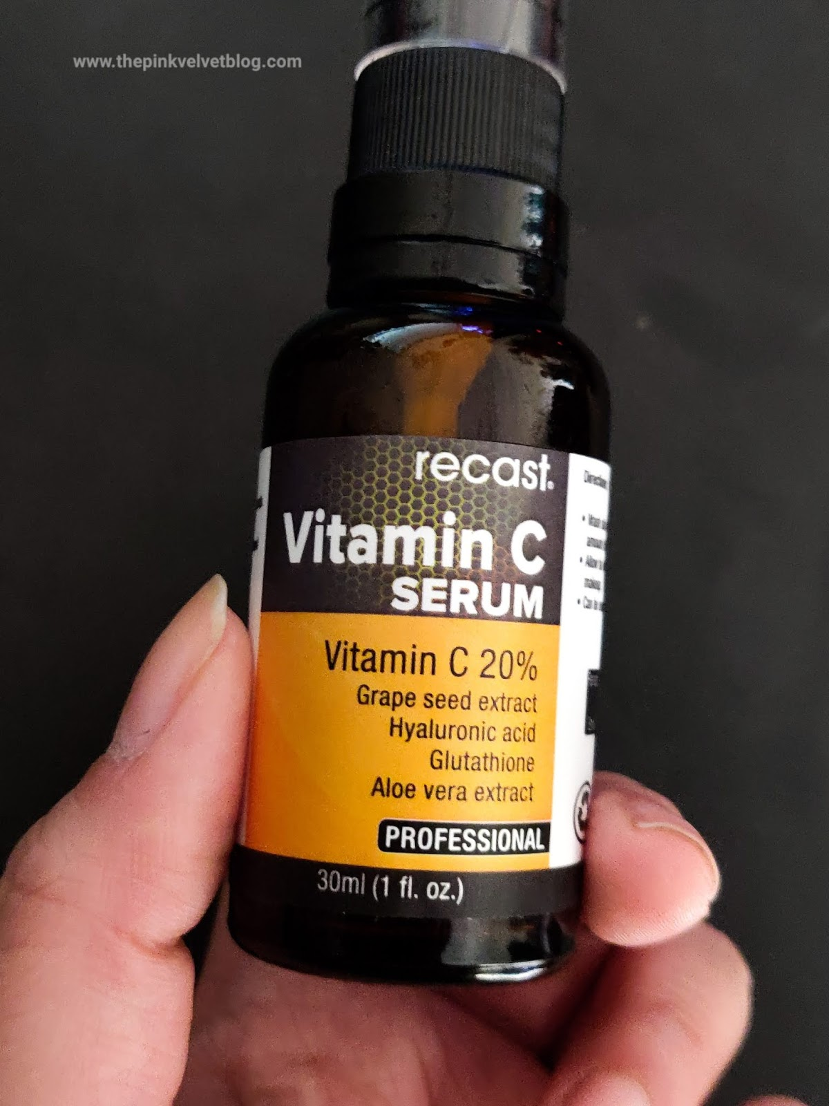 Recast Vitamin-C Face Serum with Hyaluronic Acid - Review