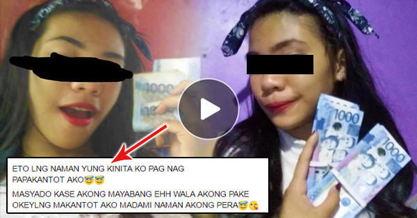 This woman posted photos on her account, showing off her money. Netizen's got shocked! And her post went Viral