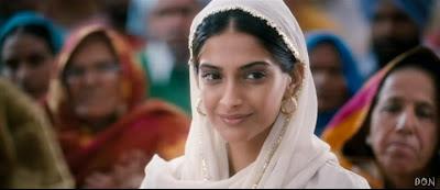 Sonam Kapoor As Simple Village Girl In Movie Mausam (2011)