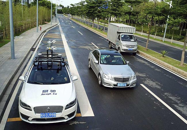 Tinuku China rolled out national standards for testing autonomous cars on roads
