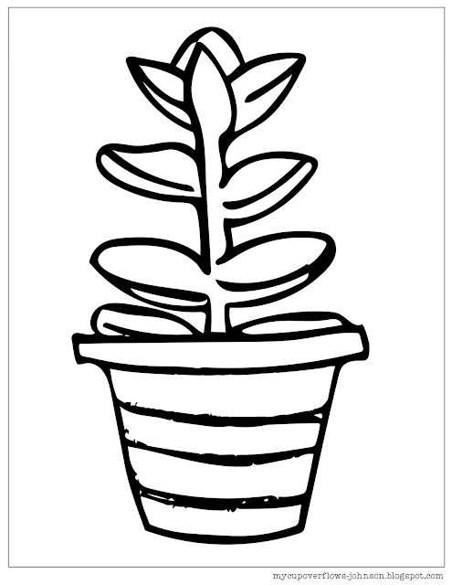 free spring plant coloring pages with Bible verses