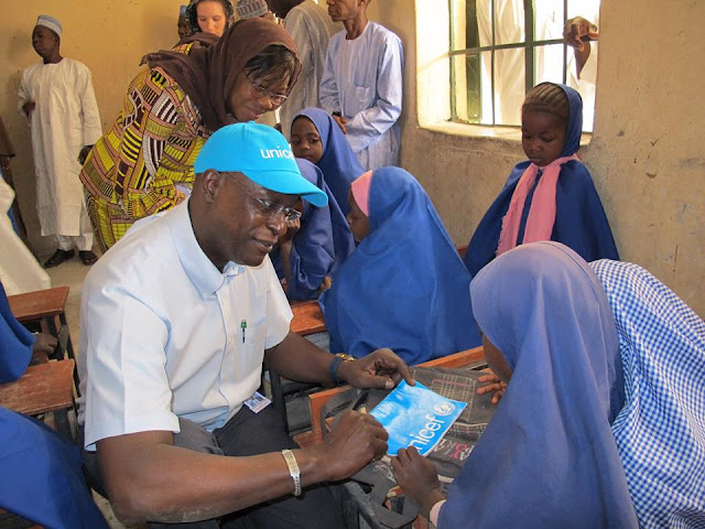 A visit of UNICEF team and Borno state