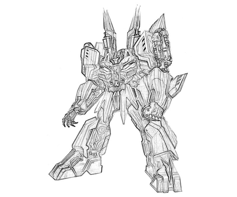 transformers cybertron coloring pages - photo#5
