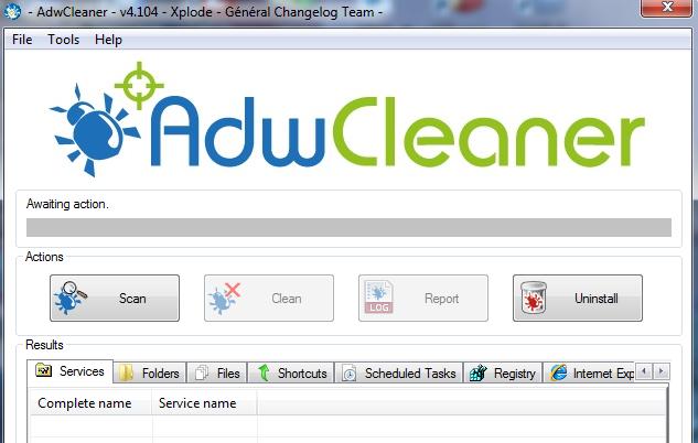 AdwCleaner Kullanımı