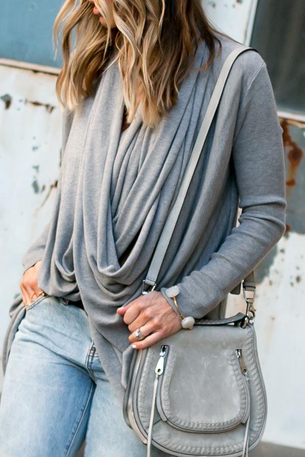 grey rebecca minkoff saddle bag parlor girl