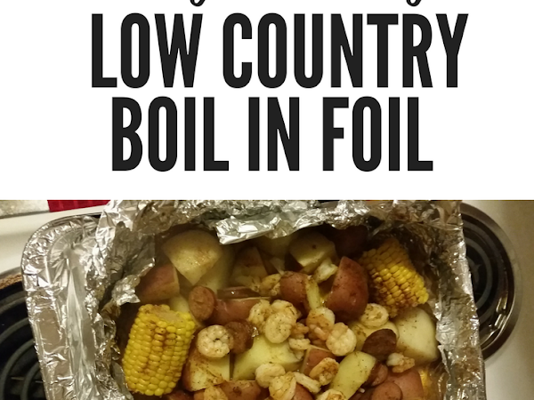 Tasty Tuesday: Low Country Boil in Foil #Recipe