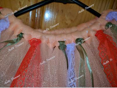 How to make a No-Sew Tutu Skirt