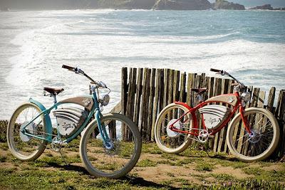 Bicicleta cruz en dos colores