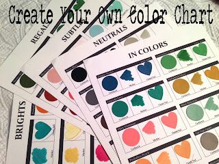 Updated Color Chart with New In Colors
