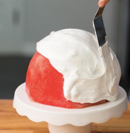 วิธีทำเค้กแตงโม