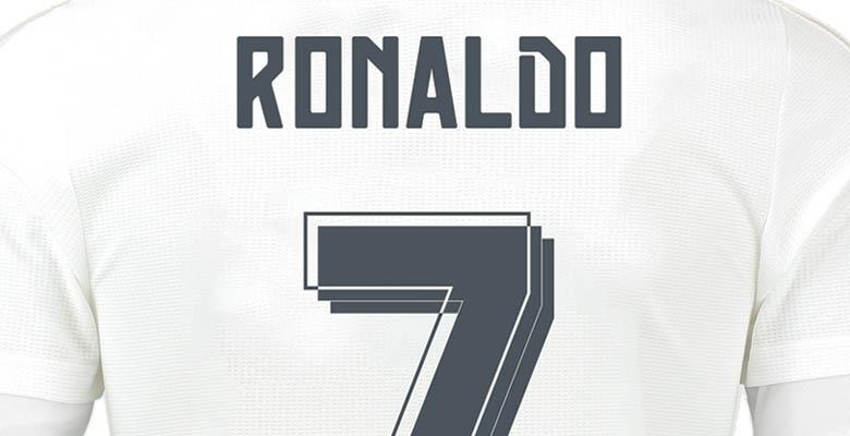Real Madrid 15 16 Kit Font Released Footy Headlines