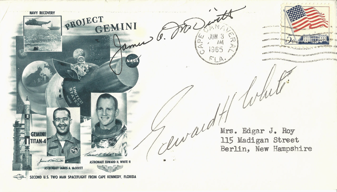 Signed Covers: 1960s-70s US Manned Space Missions