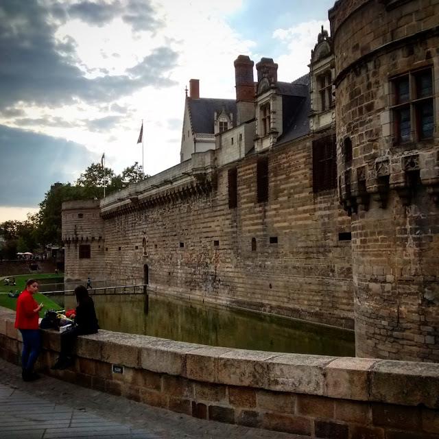 Castelo dos Duques da Bretanha - Nantes - França