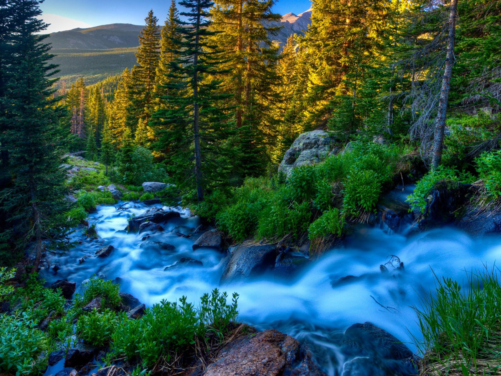 wallpapers peaceful river - photo #1