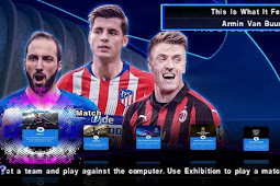 PES 2019 Mobile New Update Winter Transfer Kamera PS4 - PPSSPP