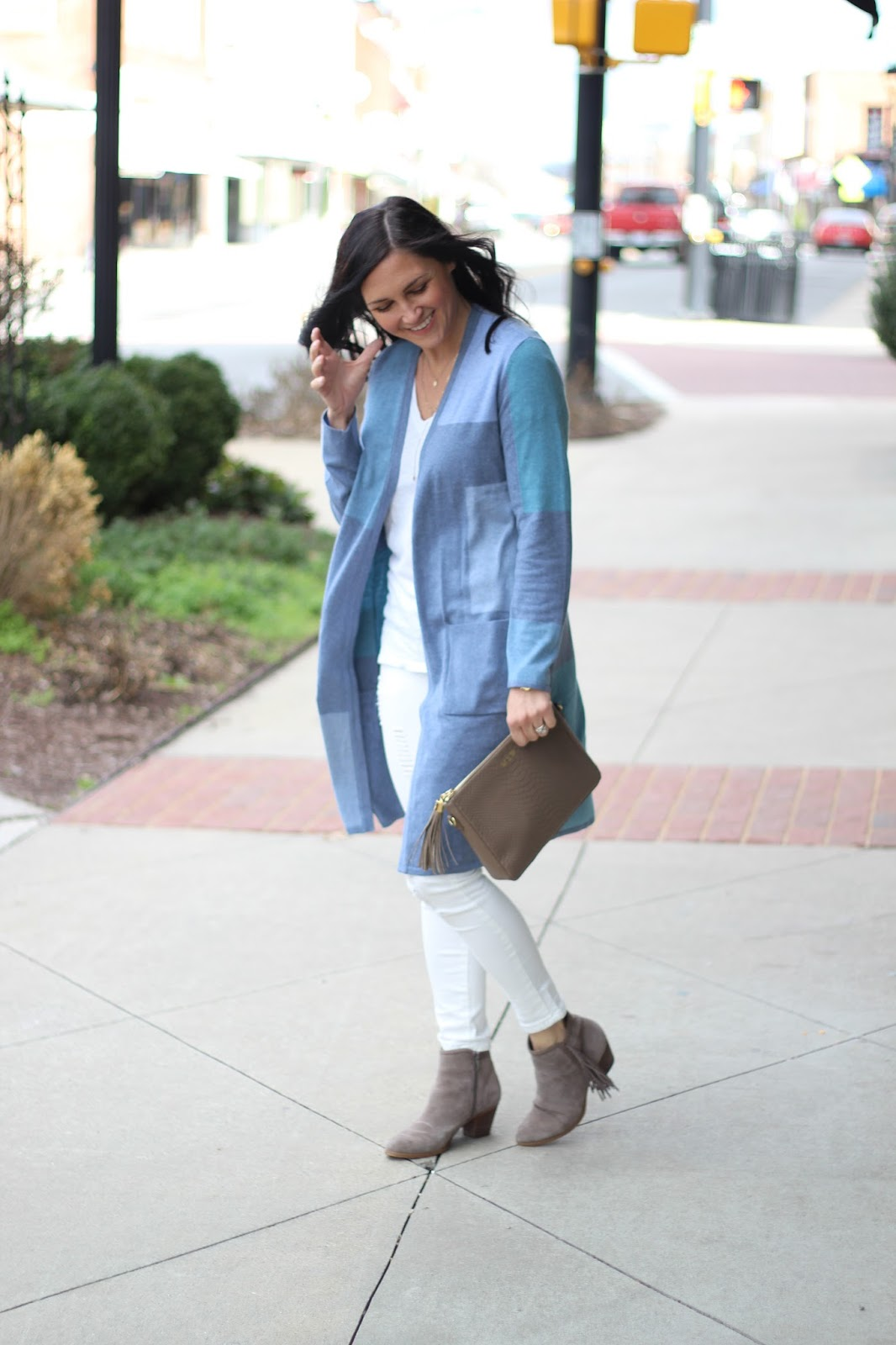 Spring Transition Outfit idea,