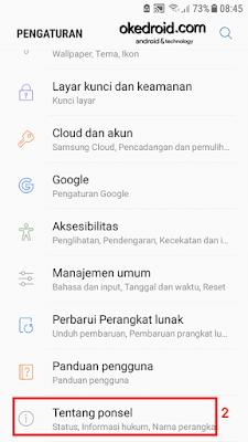 tentang ponsel di pengaturan samsung galaxy j5 2016 android
